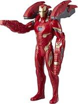Marvel Avengers Mission Tech Iron Man - 35 cm - Actiefiguur