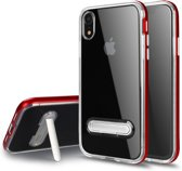 Hybrid Softcase - Iphone XR Hoesje - Rood