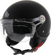 MT Soul Retro helm mat zwart