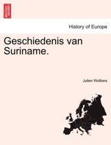 Geschiedenis van Suriname.