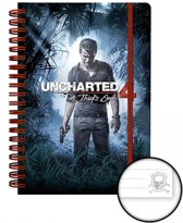 Uncharted 4 Cover A5 Notitieboek