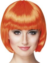 Pruik Cabaret - Oranje