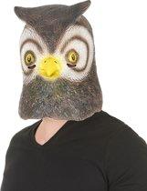 Latex uilenmasker voor volwassenen - Verkleedmasker - One size