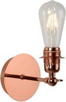 Lucide RETRO - Wandlamp - LED Dimb. - E27 - 1x5W 2700K - Koper