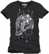 GUARDIANS OF THE GALAXY - T-Shirt Technical Helmet Star Lord (S)