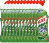 Harpic Active Fresh Pine- Wc-gel - 12 x 750ml - Voordeelverpakking