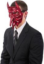 Duivel masker voor volwassenen - Verkleedmasker