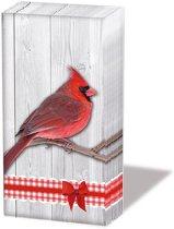Ambiente Cardinal  papieren zakdoeken