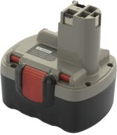 Accu 2 607 335 431 & 2 607 335 432: Bosch - 14,4V, 3000 mAh / 3.0Ah: Ni-Mh - ToolBattery Huismerk TA6004