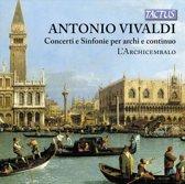 Concerti E Sinfonie Per Archi E Continuo