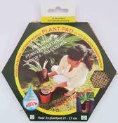2x PlantPads 15 cm - Watervasthoudende biogel met plantenvoeding