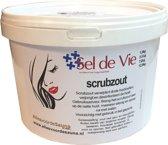 Sel de Vie Scrubzout kokos (wit) 3,5kg