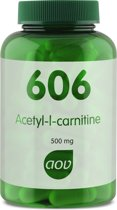 AOV 606 Acetyl-L-carnitine 500 mg 90 vegicaps