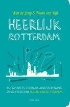 Boekomslag van 'Heerlijk Rotterdam'