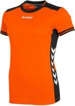 hummel Lyon Shirt Ladies Sportshirt Kinderen - Orange/Black