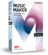 Magix Music Maker - Nederlands / Engels / Frans - Windows