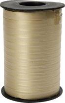 Cadeaulint, b: 10 mm, 250 m, goud