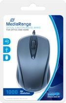 MediaRange MROS201 muis USB Optisch 1000 DPI Ambidextrous