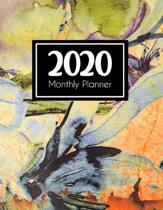 2020 Monthly Planner: Weekly and Monthly - Jan 1, 2020 to Dec 31, 2020 - Calendar Agenda Book - January to December - Cute Appointment & Pro