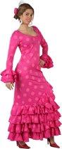 Spaanse danseres kostuum voor vrouwen  - Verkleedkleding - XL