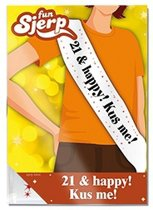 Sjerp 21 & happy! Kus me!