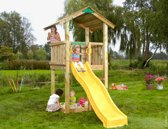 Jungle Gym - Jungle Casa - Kinderspeeltoestel - Met Glijbaan - Geel