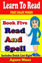 Book Five Read And Spell First Grade Words