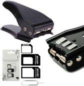 MMOBIEL Universele 3 in 1  / Standard / Micro / Sim Cutter / Nano Sim Kaart Knipper incl. 3 SIM Adapters + 1 SIM Card Eject Pin MMOBIEL