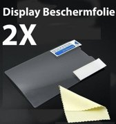 HTC One V screenprotector display beschermfolie 2X