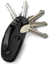 Convex Smart Key - Aluminium Key Organizer Zwart - Sleutelhouder Aluminium