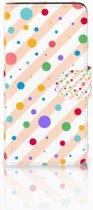 Samsung Galaxy J2 2016 Bookcase hoesje Design Dots