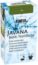 Javana Olijfgroen Batik Textile Dye - 70ml tie dye verf