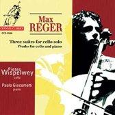 Reger: 3 Suites for Cello solo, etc