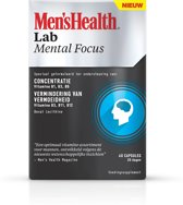 Mens Health Lab Mental Focus - 40 capsules - Voedingssupplement