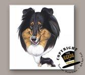 Tegel Hond Schotse Collie