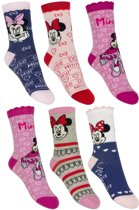 6 paar sokken Disney Minnie Mouse maat 31/34