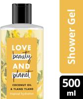 Love Beauty and Planet Douchegel Tropical Hydration - 500 ml - Coconut Oil & Ylang Ylang