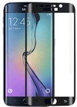 Glazen screenprotector voor Samsung Galaxy S7 Edge (ZWART) | Tempered glass | Gehard glas