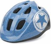 Polisport Junior Jeans fietshelm kind - Maat S (53-55cm) - Blauw