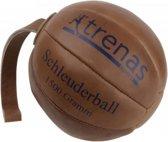 Trenas - Slingerbal - Schleuderball - Leer - 1.5 kg - Ø 21cm - Lus lengte 28 cm