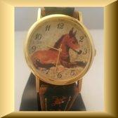 Apart horloge met paardje