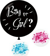 Catshi - Gender Reveal XL ballon Ø 90 cm (excl helium)