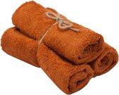 Timboo gastendoekjes (3st.) - Inca Rust