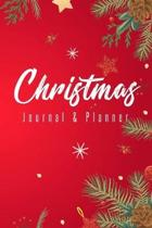 Christmas Journal & Planner: Lined Notebook For Planning Your Holiday Season