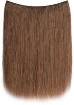 Easy Wire Extensions (Steil), 100% Human Hair, 50cm, kleur 8 Cinnamon