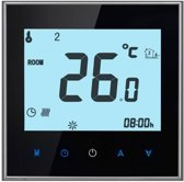 Elektrische vloerverwarming thermostaat smart control touch screen zwart PRF-78