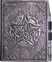 Notitieboekje metaal Pentagram met pen