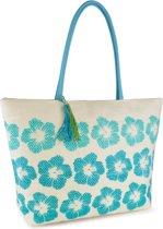 Summer Bags FLOWERS Strandtas Shopper Paper Straw Vakantie Tas TRENDY