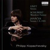 Liszt, Schubert, Jana?Ek