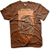 STAR WARS 7 - T-Shirt Chewbacca Loyalty - Brown (S)